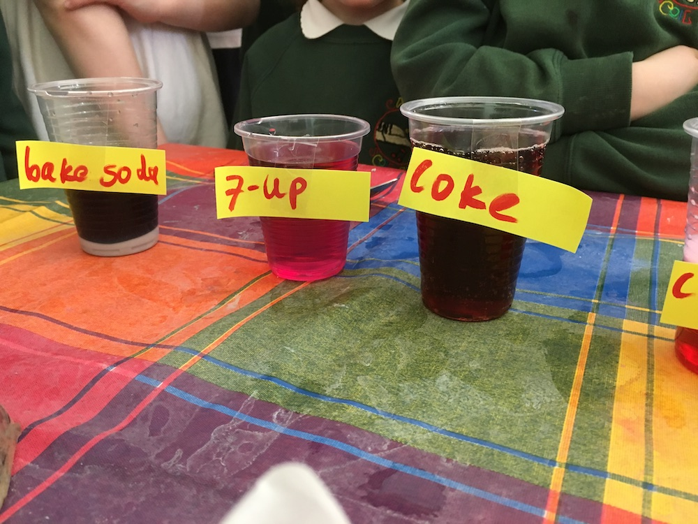 Science Experiments - Carns National School